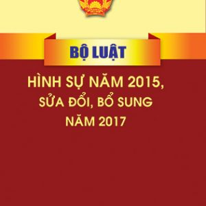 Luật Sửa đổi, Bổ Sung Một Số điều Của Bộ Luật Hình Sự Năm 2015