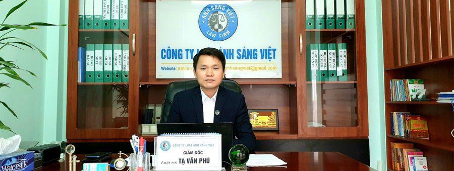 Luật sư Tạ Văn Phú