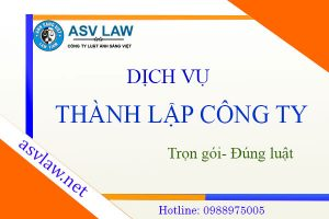 Thanh Lap Cong Ty Dich Vu