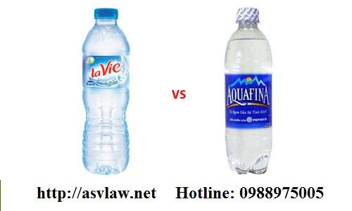 Khả năng phân biệt của nhãn hiệu nước Aquafina và Lavie